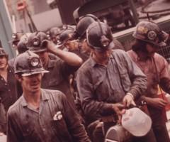 Украинские шахты увеличили объемы добычи угля