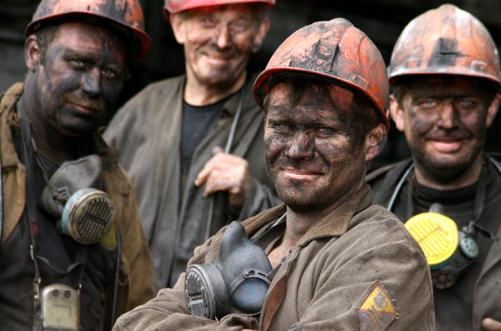 Украинские шахтеры сидят на голодном пайке