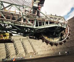 На шахте ТалдинскаяЮжная рабочего раздавило углем