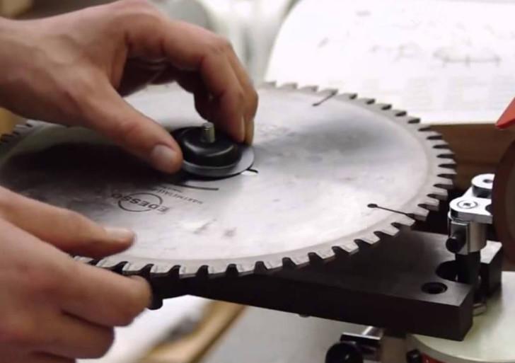 Станок для заточки дисковых пил с твердосплавной напайкой