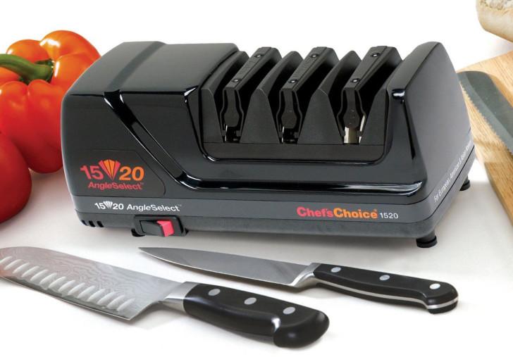 Электрический станок для заточки ножей Chefs Choice характеристики моделей 320 и 1520