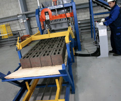 Станок для производства шлакоблоков и тротуарной плитки
