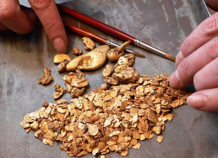 Добыча россыпного золота индивидуальными предпринимателями