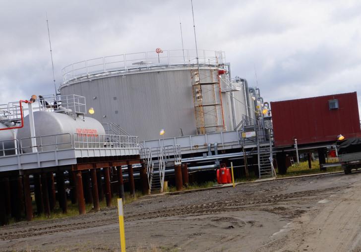 Как откачать остатки нефти из резервуара до минимального уровня?