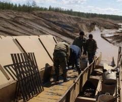 Добыча золота работа в артели старателей Золотая долина