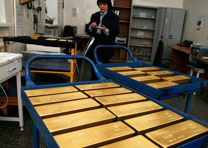 Сколько добывают золота в России, рейтинг золотодобывающих компаний - 2015