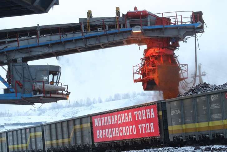 В Красноярском крае добыли юбилейную миллиардную тонну угля