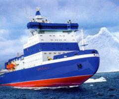 Арктика 8212 самый мощный в мире ледокол