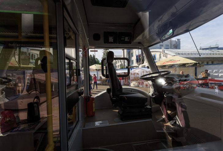 Новый вид городского транспорта на улицах Минска