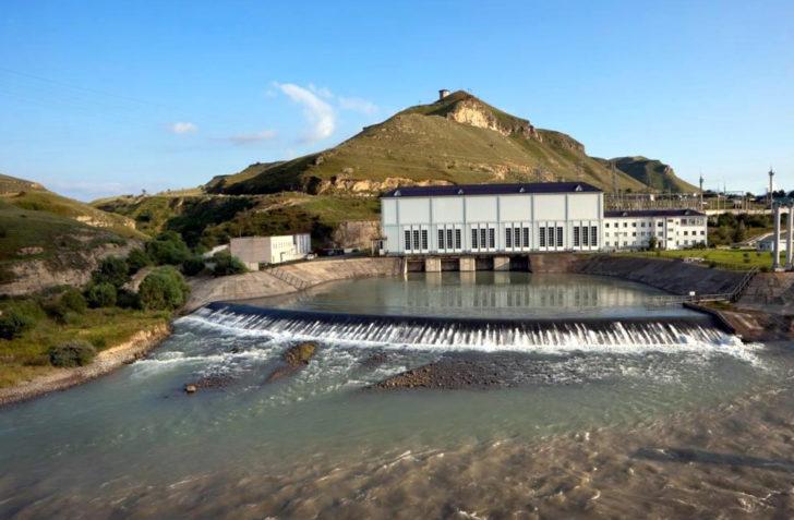 Новая Зеленчукская ГЭС-ГАЭС гидроаккумулирующая электростанция запущена