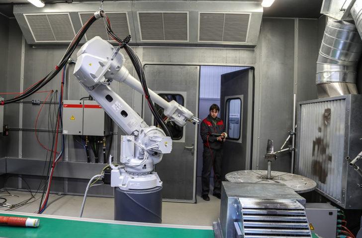 Новое предприятие по ремонту деталей крупных энергетических турбоустановок АО РОТЕК