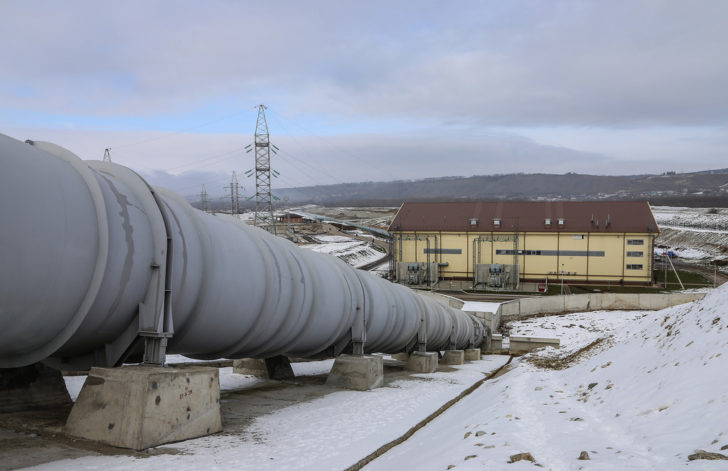 Запущена Зарагижская ГЭС в Кабардино-Балкарии