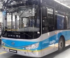 По республикам СНГ поедут казахстанскокитайские автобусы