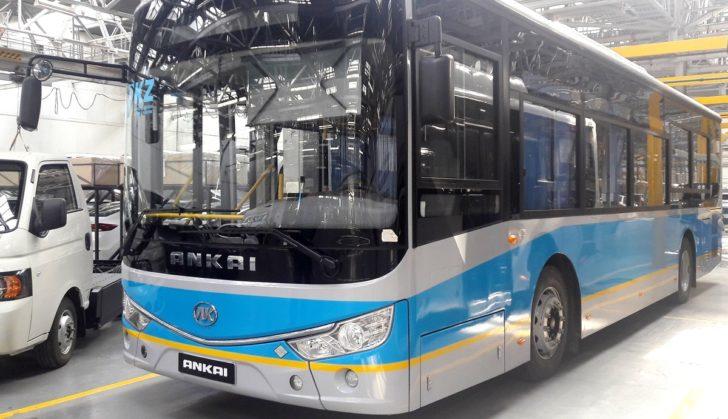По республикам СНГ поедут казахстанско-китайские автобусы
