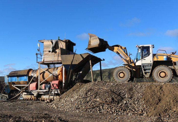Работа на добыче золота в ООО Гран