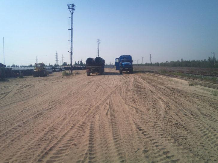 Перевалка грузов в Новом Уренгое