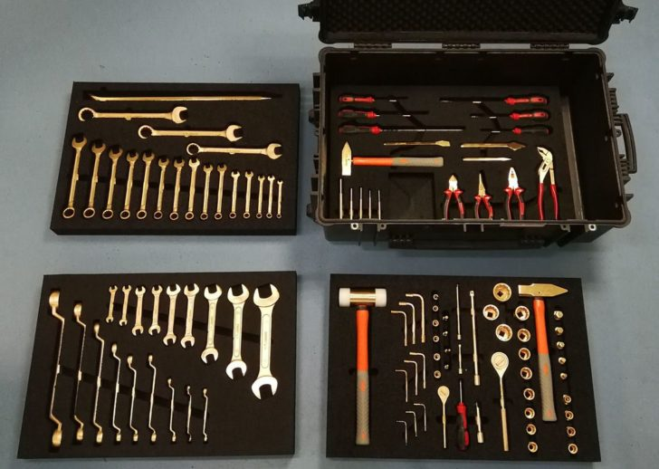 Искробезопасные инструменты виды где используются