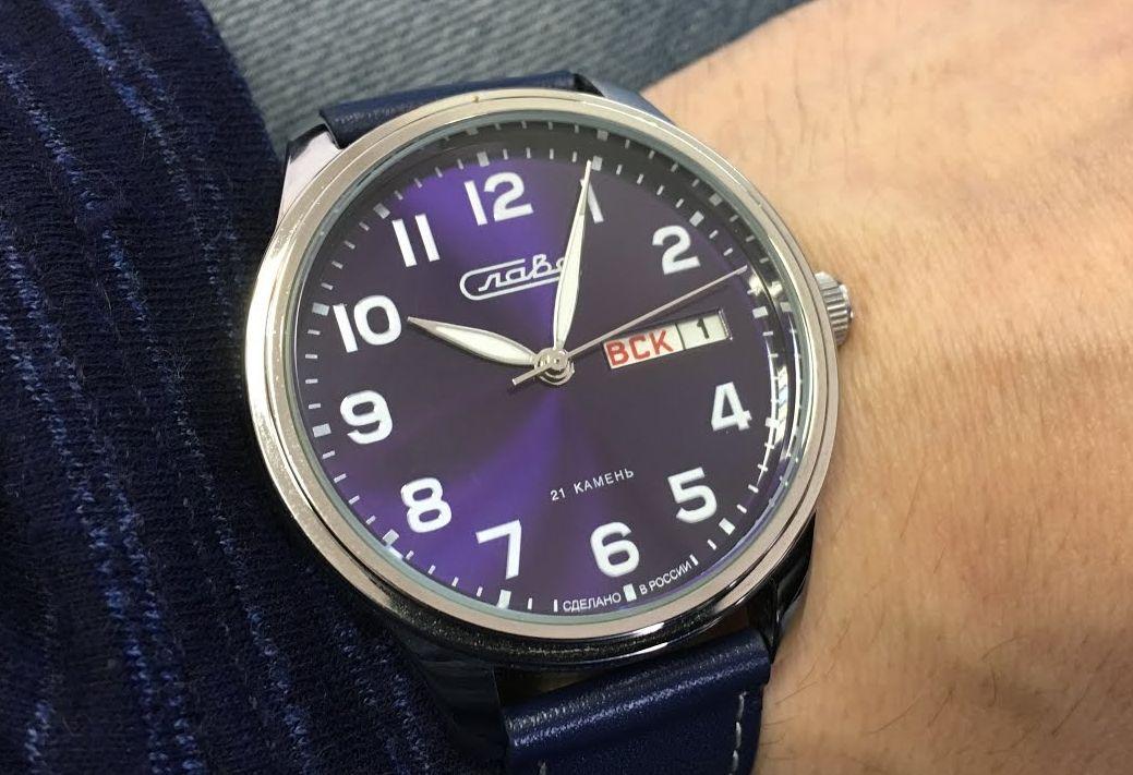 Часы известного бренда   Слава