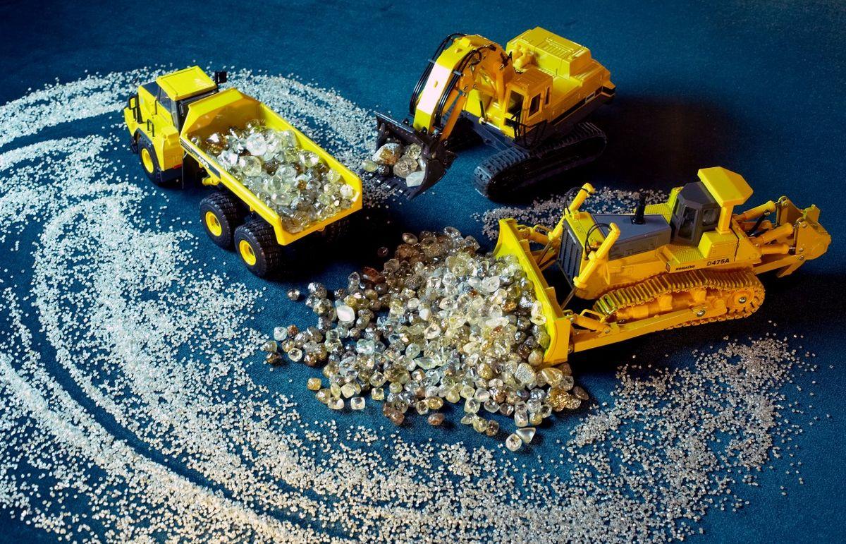 Работа на добыче алмазов в АЛРОСА