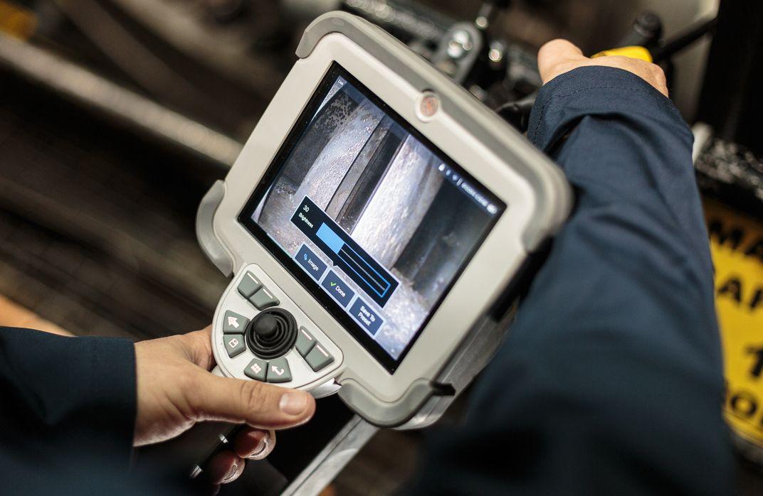 Визуальный контроль в промышленности  видеоэндоскопы