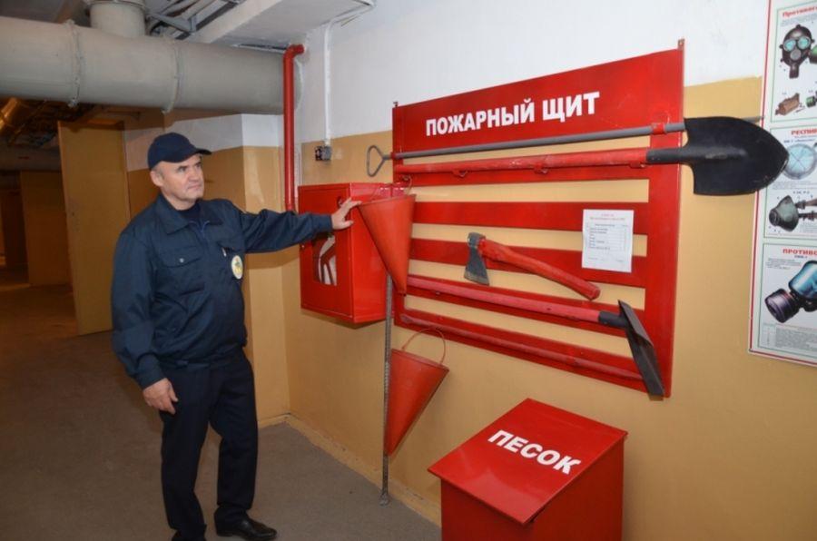 ГОСТ для установки пожарных щитов