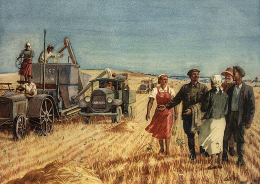 Заслуженный агроном РСФСР Бакокин