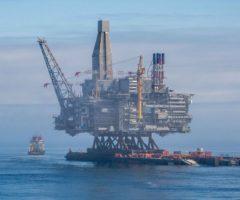 Разработка нефтяного месторождения на Каспии