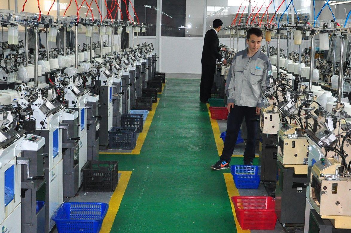 Оборудование для производства рабочих перчаток