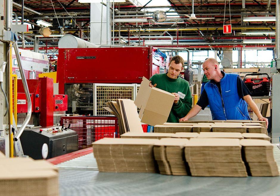 Производство картонных изделий
