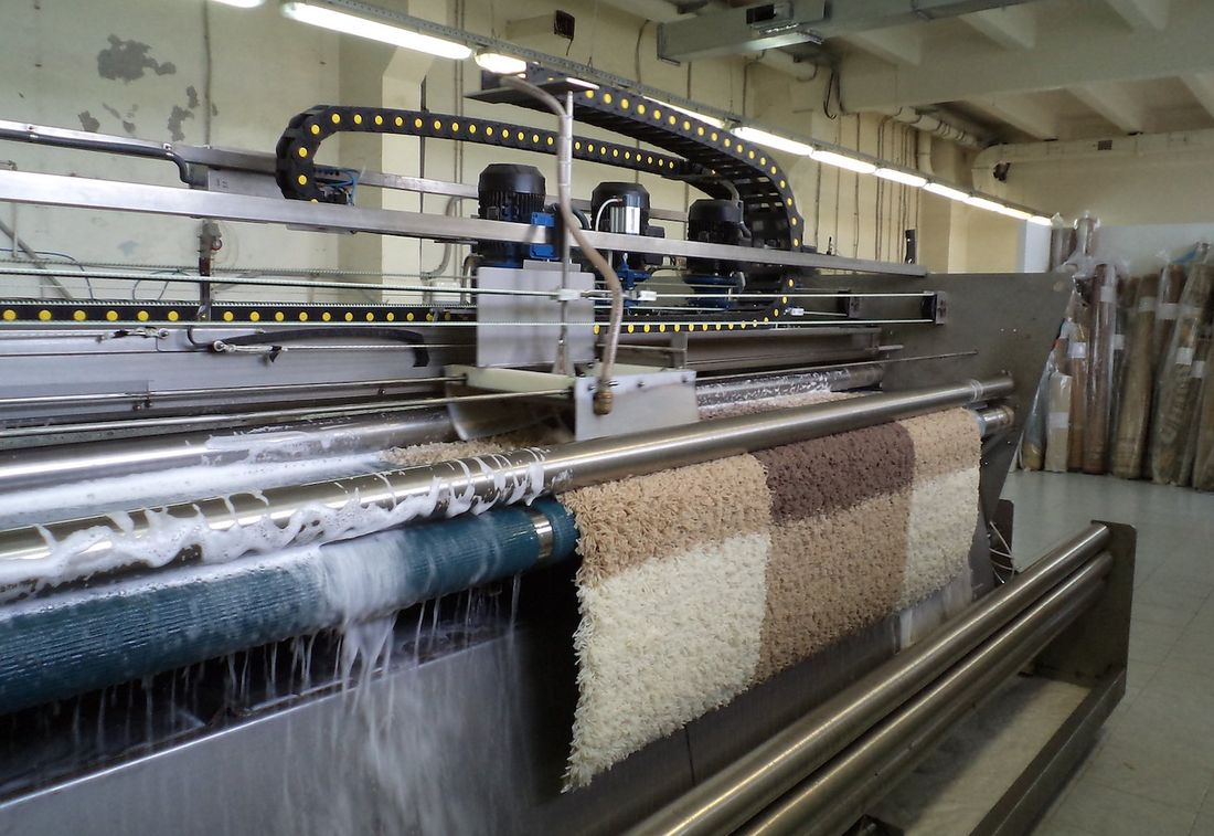 Химчистка ковров и напольных покрытий от компании