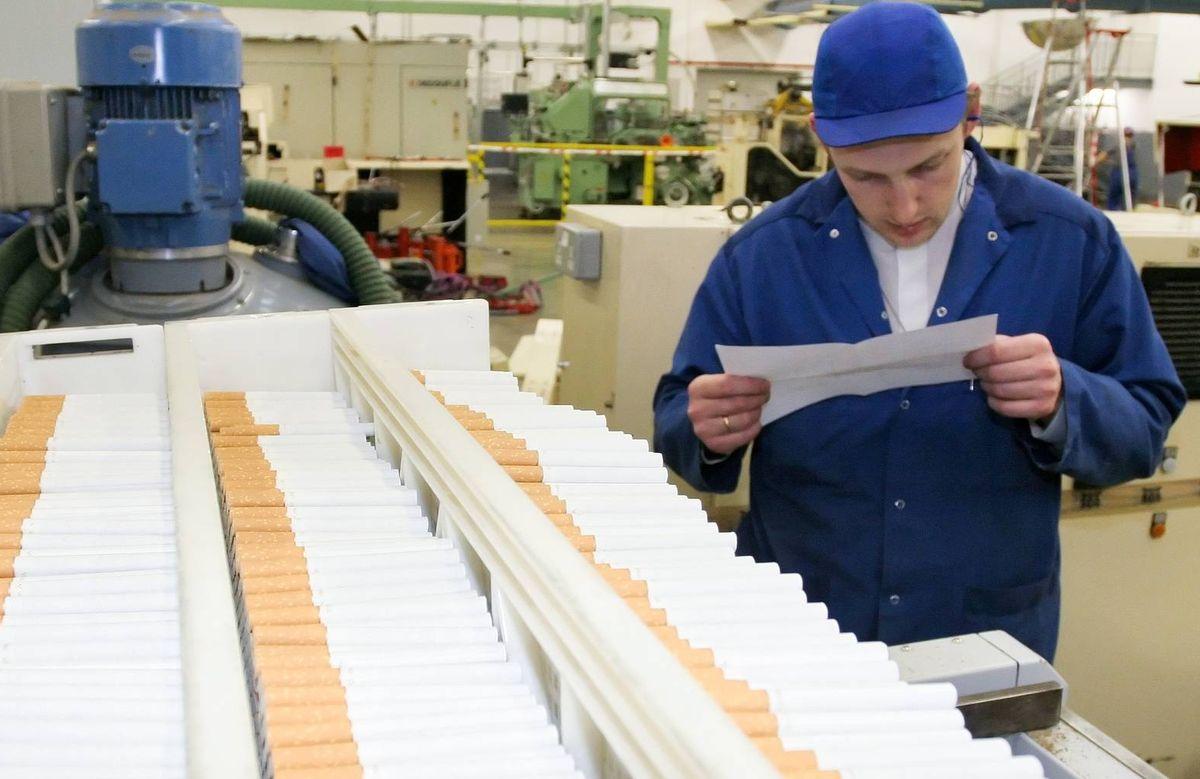 Химические вещества в табачной промышленности