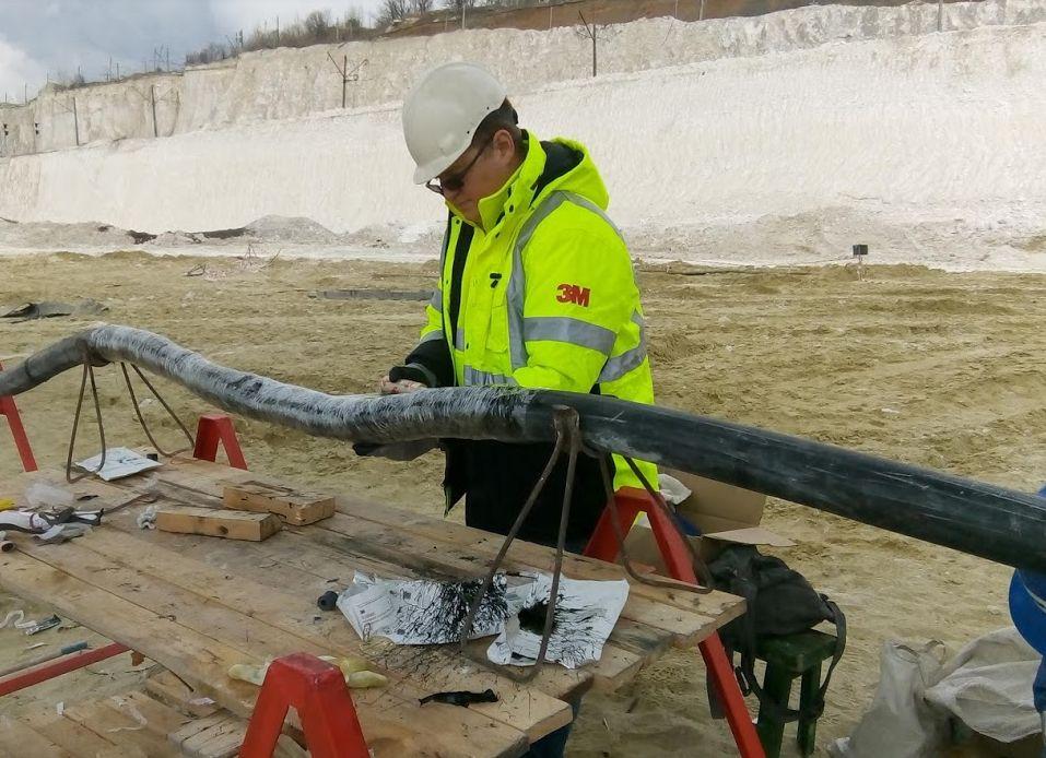 3M GTS-F  новейшая технология ремонта гибкого горного и шахтного кабеля от АО 3М Россия