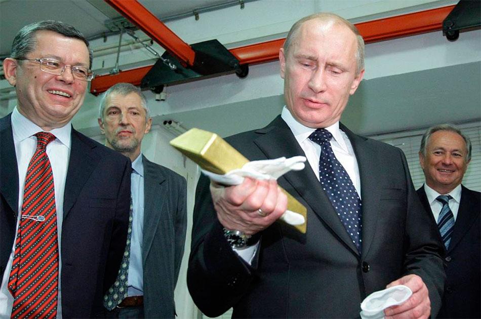 Владимир Владимирович Путин поблагодарил коллектив ПАО Полюс за высокие результаты
