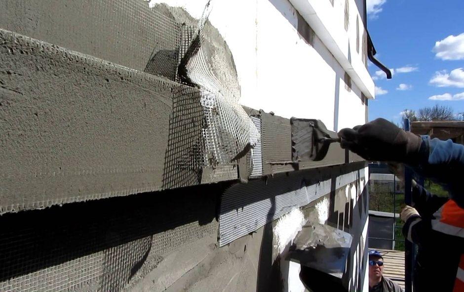 Строительные материалы мокрый фасад
