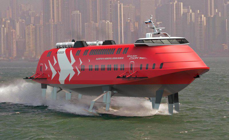СПК Снова крылатые корабли